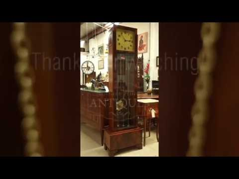 Antique Grandfather Clock Disassembly - Moonee Ponds Antiques