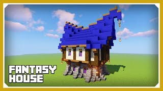 Minecraft How To Build A Fantasy House Easy Medieval House Build Tutorial YouTube