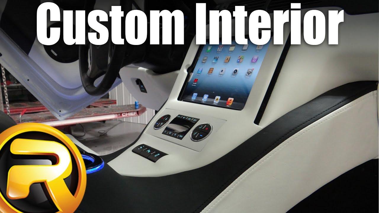 Storm Truck Project Episode 19   Custom Interior   YouTube