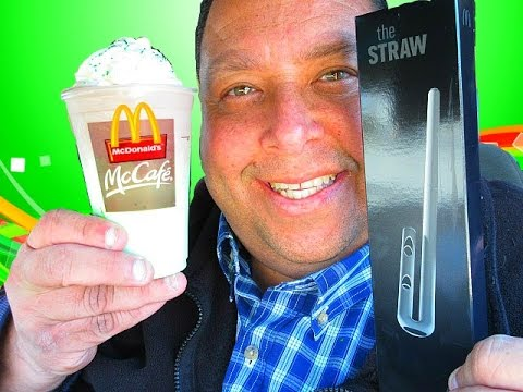 "McDonald's® STRAW Review..""IT SUCKS, BIG TIME!"""