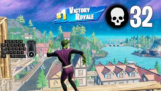 32 Elimination Solo Squad Win Aggressive Gameplay Full Game (Fortnite PC Keyboard) screenshot 3