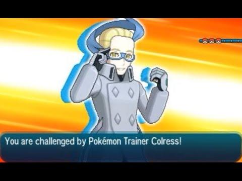 Pokémon Sun and Moon: VS Colress (Battle tree)