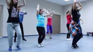 Jazz Funk урок в школе танцев Evolvers