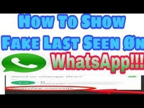 How to hack Whatsapp last seen by #CircleAndroid