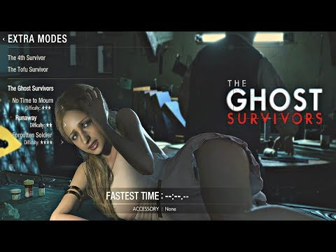 Resident Evil 2 Remake - Ghost Survivors DLC Katherine Runaway Walkthrough (PS4 Pro)