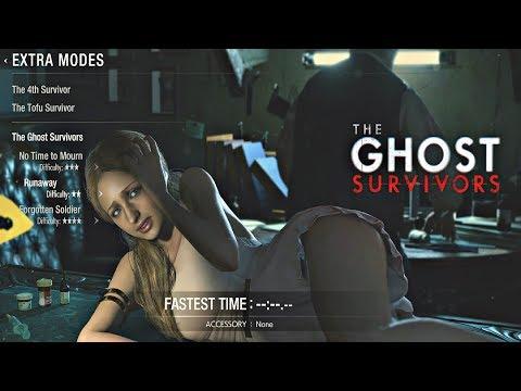 Resident Evil 2 Remake - Ghost Survivors DLC Katherine Runaway Walkthrough (PS4 Pro)