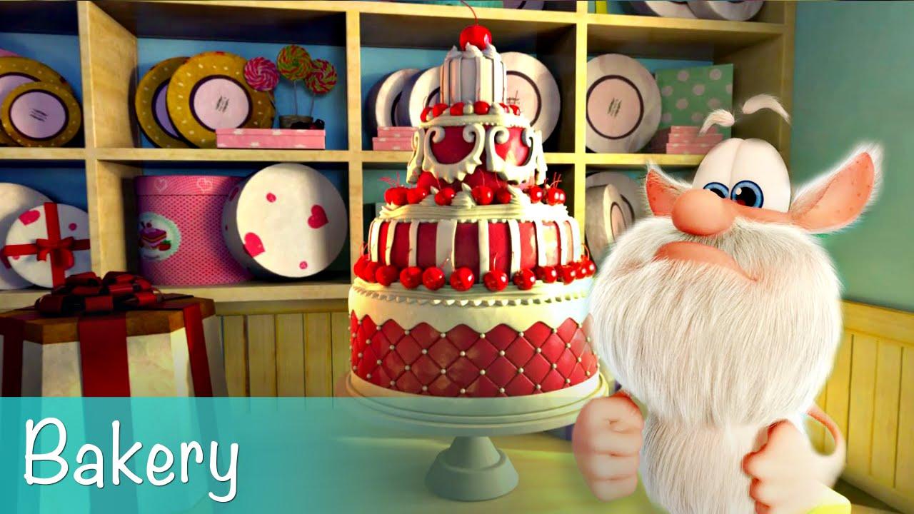 Booba Bakery Mini Episode Cartoon For Kids Youtube