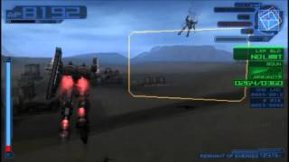 Armored Core:Last Raven Portable OP-I/Human Plus Mission Testing