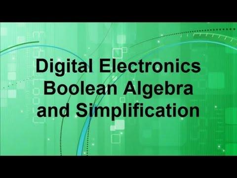 Boolean algebra #1: Basic laws and rules
