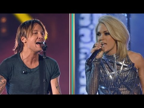 Exclusive keith urban teases new details about carrie for Carrie underwood and keith urban duet