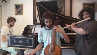 Hotteterre - Premiére Suite pour la Flûte - VI - Menuet I & II - Laura Rónai, Eduardo Antonello