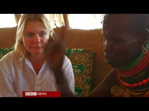BBC News   Kenya's poor get British aid via a smart card