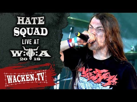 Hate Squad - Full Show - Live At Wacken Open Air 2018