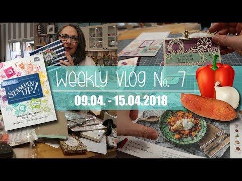 Weekly Vlog #7.2018 | Vororder | Stempel aussortiert | Unsere 1. Hello-Fresh-Box