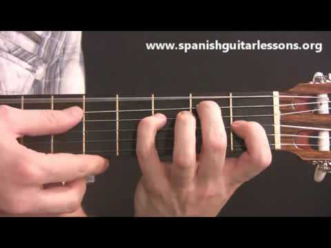 Essential Spanish Guitar Chords - YouTube