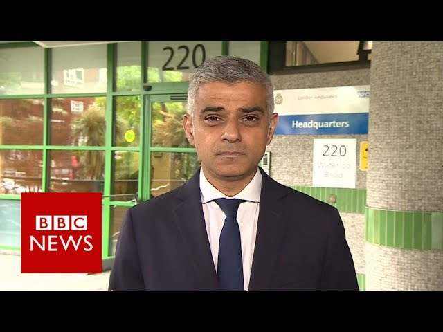 Sadiq Khan: 'There's nothing left to cut' - BBC News