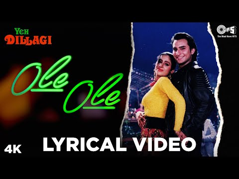 Ole Ole Lyrical Song Video - Yeh Dillagi | Saif Ali Khan, Akshay Kumar, Kajol | Abhijeet | Old Hits