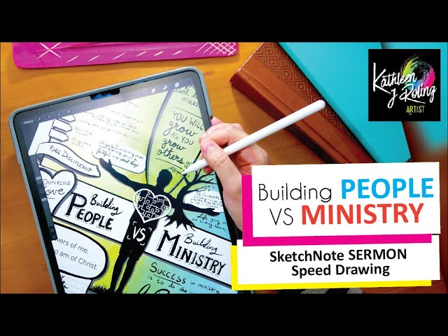 Building PEOPLE VS Building MINISTRY