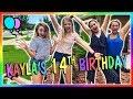 KAYLA'S 14TH BIRTHDAY | We Are The Davises