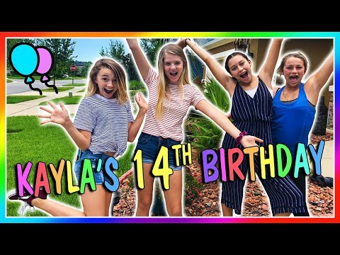 KAYLA'S 14TH BIRTHDAY | We Are The Davises