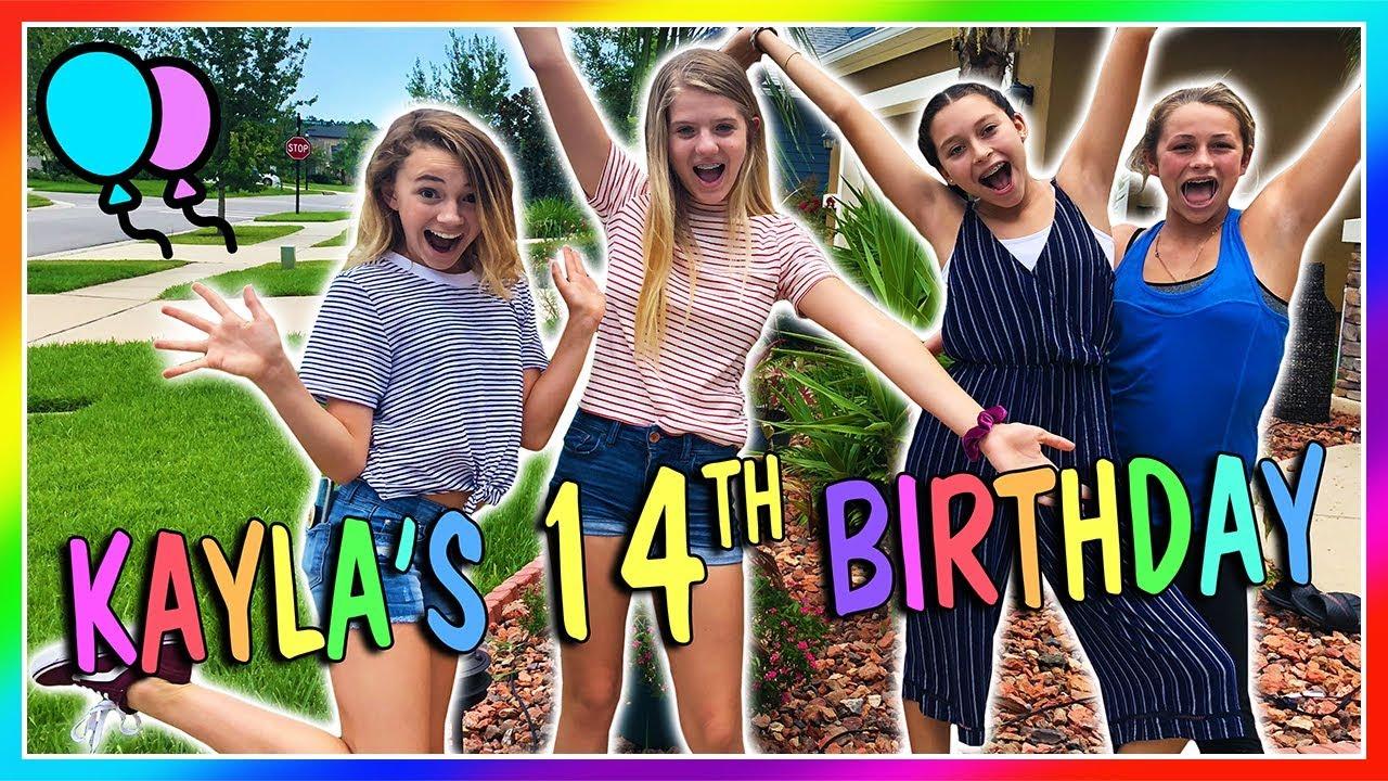 Kayla S 14th Birthday We Are The Davises Youtube