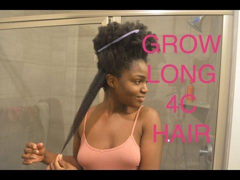 MY TOP TIPS ON HOW TO RETAIN LENGTH/GROW LONG 4C HAIR