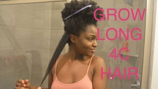 MY TOP TIPS ON HOW TO RETAIN LENGTH/GROW LONG 4C HAIR