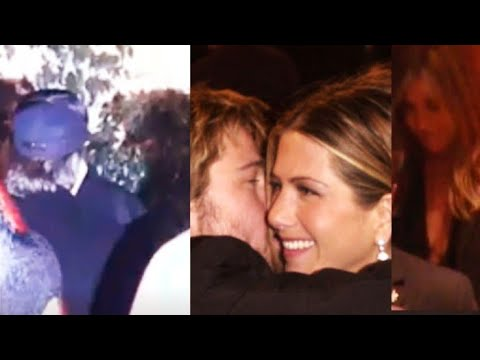 Brad Pitt And Jennifer Aniston Spotted Together On Her 50th Birthday Party