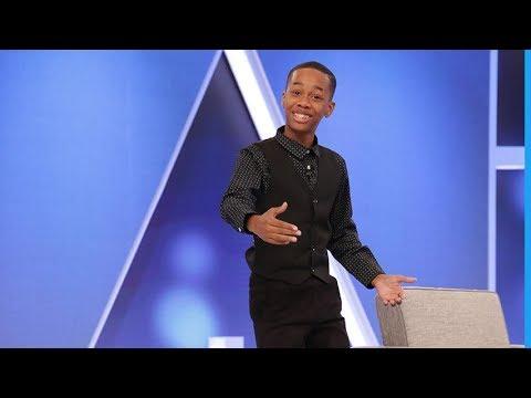 11-Year Old Motivational Speaker King Nahh