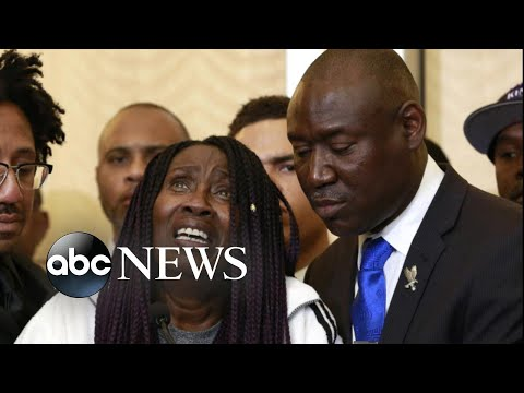 Family of unarmed black man shot 20 times demands justice