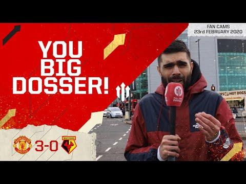 FEEL MARTIAL'S FURY! Man Utd 3-0 Watford Adam McKola Fan Cam
