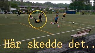 Match mot lärarna (kaos) - Vloggvecka dag 1