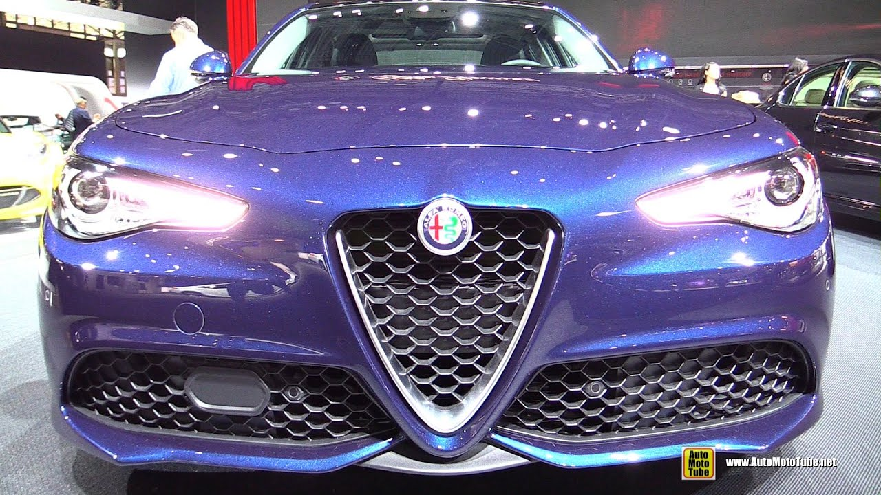 2017 Alfa Romeo Giulia Ti Exterior And Interior Walkaround 2016 New York Auto Show Youtube