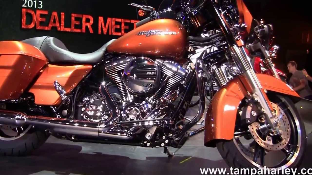 2014 Harley Davidson Motorcycle Models Introduced New Colors
