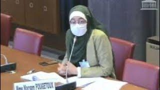 إلغاء جلسة البرلمان الفرنسي بسبب فتاة محجبة