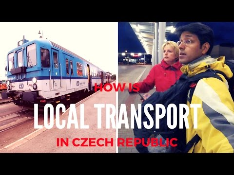 How are the local Buses and Trains in Czech Republic?