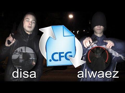 ДВА БАНДИТА ПОМЕНЯЛИСЬ КОНФИГАМИ Ft. Alwaez (CS:GO)