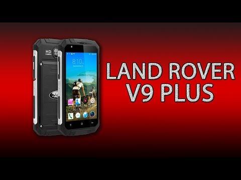 Land Rover V9 Plus - бюджетный защищённый смартфон с большим аккумулятором!