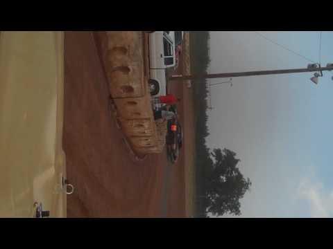 Ridge's in car camera at cochran motor speedway