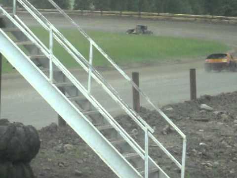 Eagle Track Raceway Modified Main Event July 7th 2013