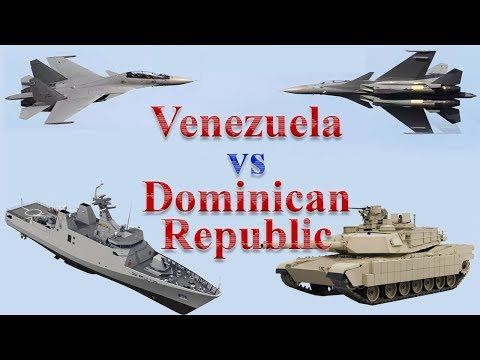 Venezuela vs Dominican Republic Military Comparison 2017