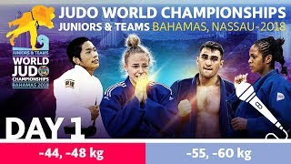 World Judo Championship Juniors 2018: Day 1 thumbnail