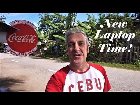 Shopping for a new Laptop in Masbate City - Philippine daily life