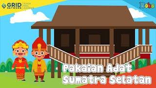 Pakaian Adat Sumatra Selatan - Seri Budaya Indonesia