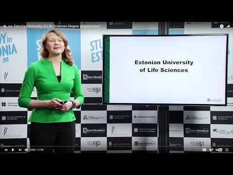 Estonian University of Life Sciences (degree programmes)