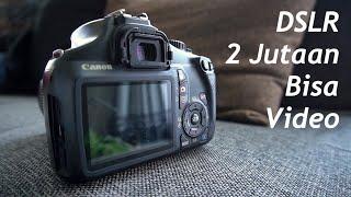 Kamera DSLR Canon 1100D & Lensa Kit 18-55mm