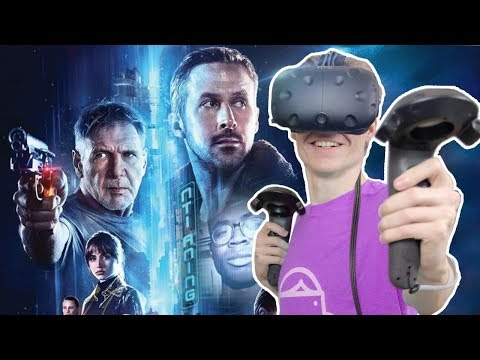 BLADE RUNNER IN VIRTUAL REALITY! | Blade Runner 2049: VR Experience (HTC Vive Gameplay)