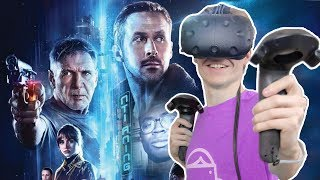 BLADE RUNNER IN VIRTUAL REALITY! | Blade Runner 2049: VR Experience (HTC Vive Gameplay)