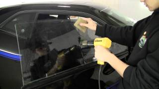 How to Tint a Frameless Window