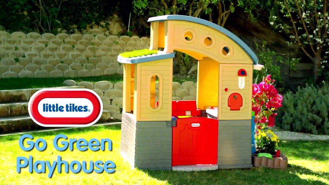 Little Tikes Go Green Playhouse  Demo  YouTube